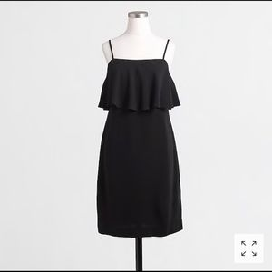 NWT J.Crew Tired dress in pebbled crepe sz 4